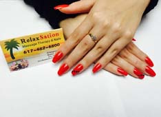 RelaxSation Massage Therapy & Nails: Massage Therapy, Nail Salon and Day Spa in Quincy. Call today - (617) 482-6800